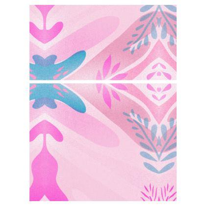 Ladies Vest Top- Emmeline Anne Colours of the Sea Pink