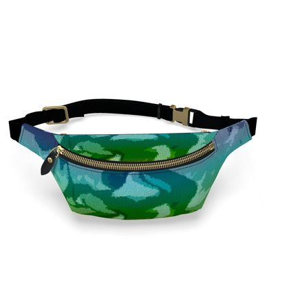 Fanny Pack - Honeycomb Marble Abstract 5