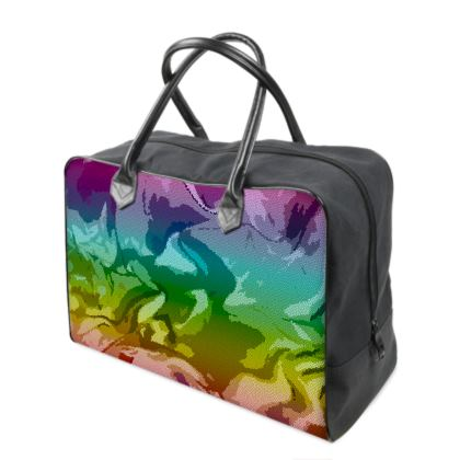 Holdalls - Honeycomb Marble Abstract 5
