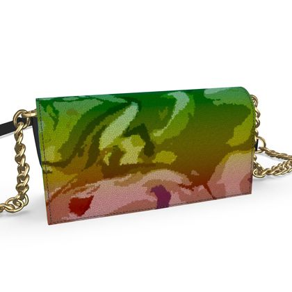Oana Evening Bag - Honeycomb Marble Abstract 5