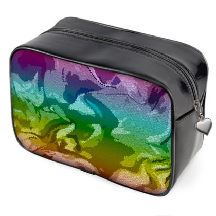 Wash Bags - Honeycomb Marble Abstract 5