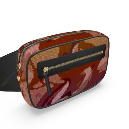 Belt Bag - Honeycomb Marble Abstract 6