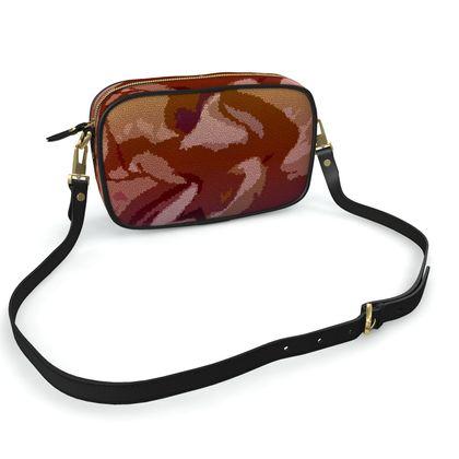 Camera Bag - Honeycomb Marble Abstract 6
