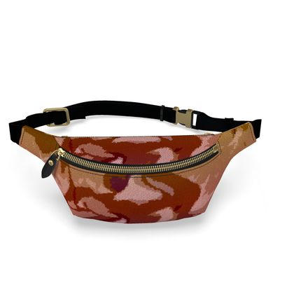 Fanny Pack - Honeycomb Marble Abstract 6