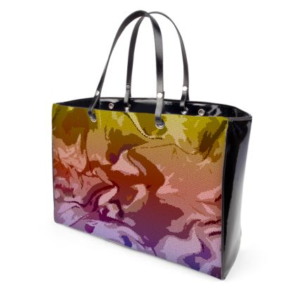 Handbags - Honeycomb Marble Abstract 6
