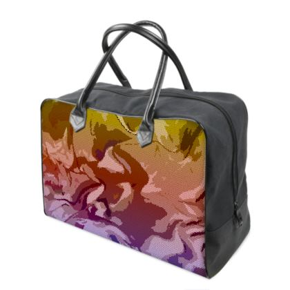 Holdalls - Honeycomb Marble Abstract 6