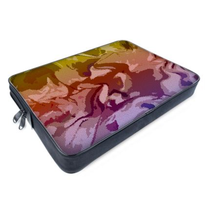 Laptop Bags - Honeycomb Marble Abstract 6