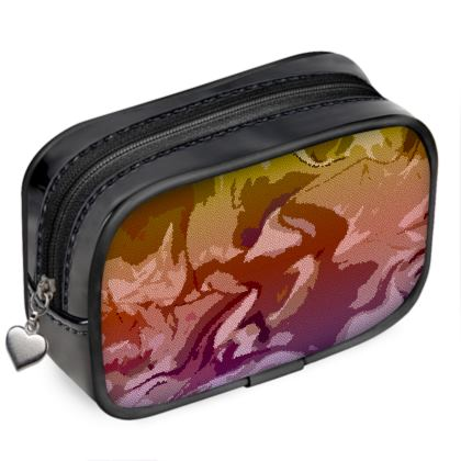 Pouch Purse - Honeycomb Marble Abstract 6