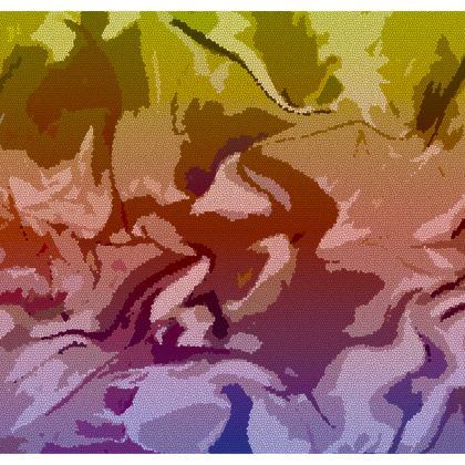 Shoulder Bag - Honeycomb Marble Abstract 6