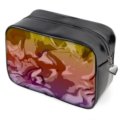 Wash Bags - Honeycomb Marble Abstract 6