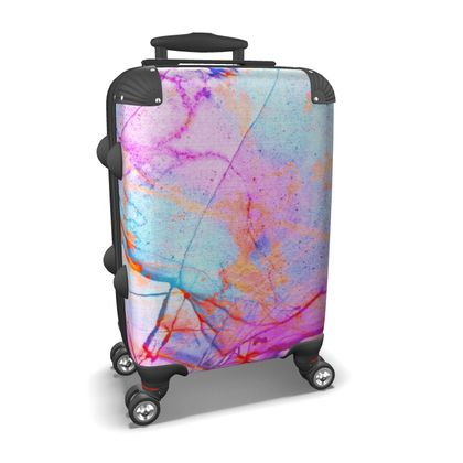 Suitcase in PINK GRAFFITI CANDY MARBLE