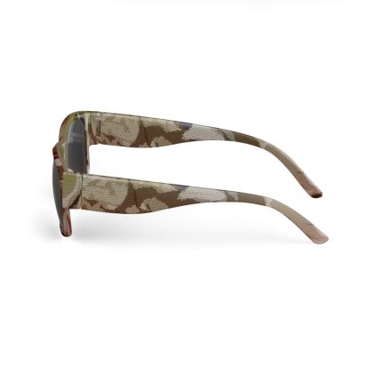 Sunglasses - Honeycomb Marble Abstract 2
