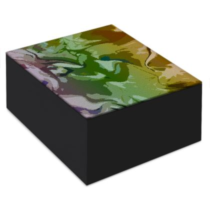 Jewellery Box - Honeycomb Marble Abstract 4