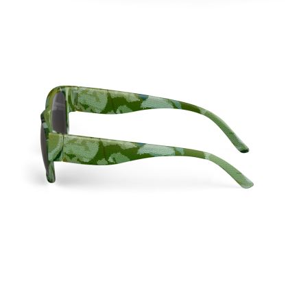 Sunglasses - Honeycomb Marble Abstract 4