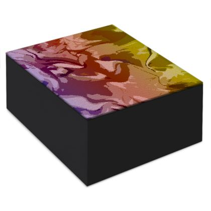 Jewellery Box - Honeycomb Marble Abstract 6