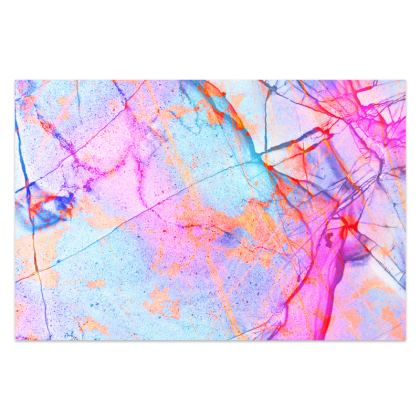 Sarong in the PINK GRAFFITI CANDY MARBLE design