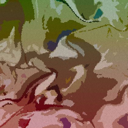 Espadrilles - Honeycomb Marble Abstract 2