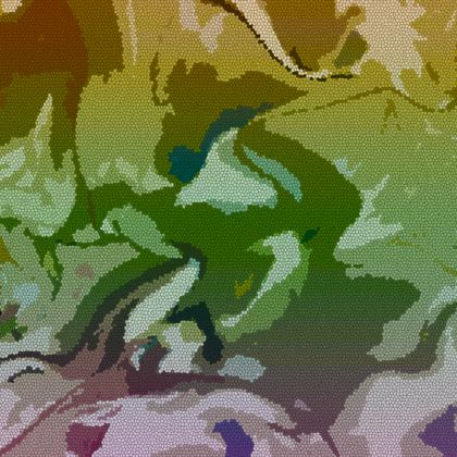 Espadrilles - Honeycomb Marble Abstract 4