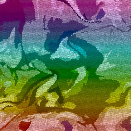 Espadrilles - Honeycomb Marble Abstract 5