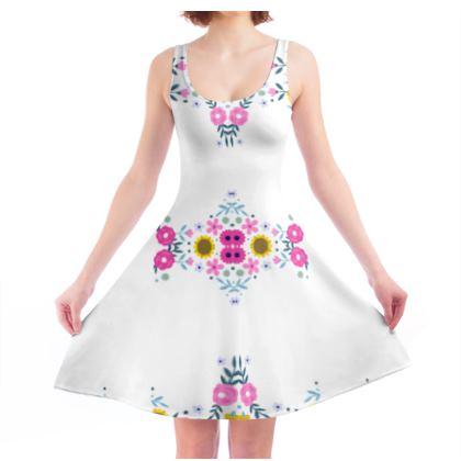 Skater Dress- Emmeline Anne Florals