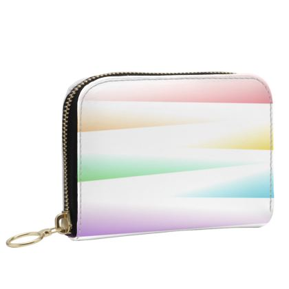 Small Leather Zip Purse- Emmeline Anne