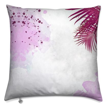 Cushions- Emmeline Anne Red Palms