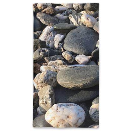 Pebbles on the Beach Neck Gaiter
