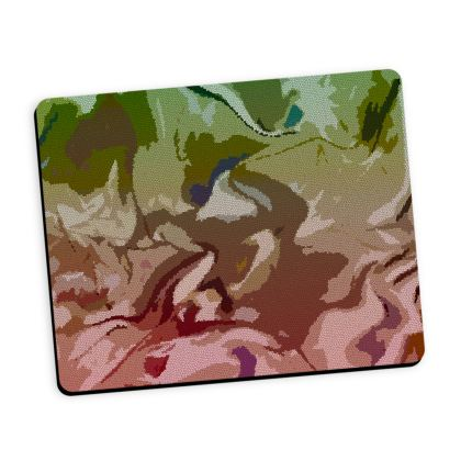 Mouse Mat - Honeycomb Marble Abstract 2