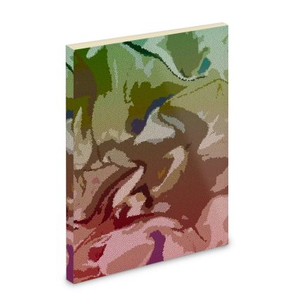 Pocket Note Book - Honeycomb Marble Abstract 2