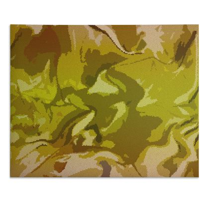 Desk Pad - Honeycomb Marble Abstract 3