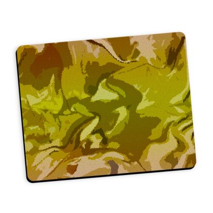 Mouse Mat - Honeycomb Marble Abstract 3