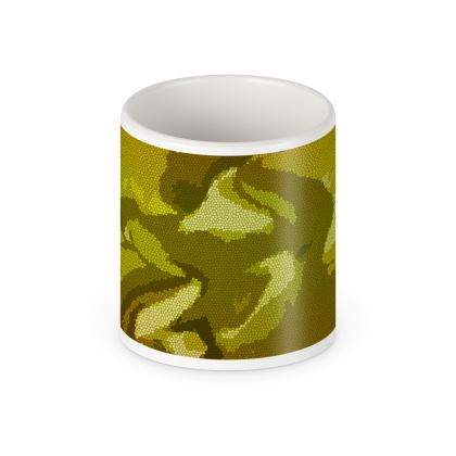 Pen Pot - Honeycomb Marble Abstract 3