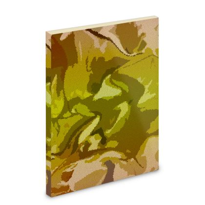 Pocket Note Book - Honeycomb Marble Abstract 3