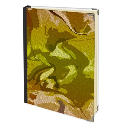 Journals - Honeycomb Marble Abstract 3
