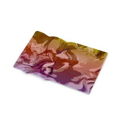 Pen Tray - Honeycomb Marble Abstract 6