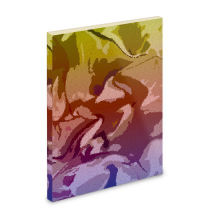 Pocket Note Book - Honeycomb Marble Abstract 6