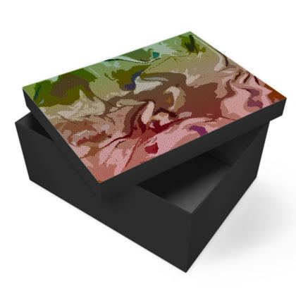 Photo Box - Honeycomb Marble Abstract 2