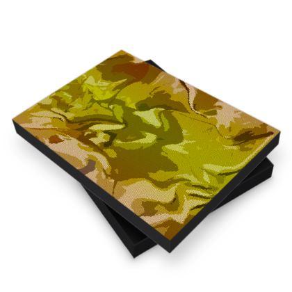Photo Book Box - Honeycomb Marble Abstract 3