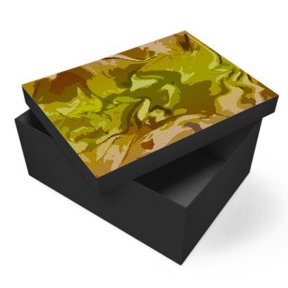 Photo Box - Honeycomb Marble Abstract 3