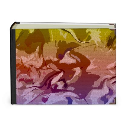 Photo Albums - Honeycomb Marble Abstract 6