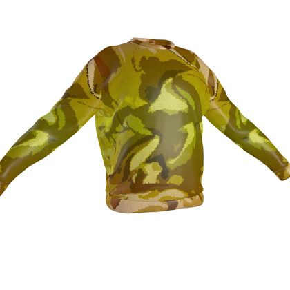 Sweatshirt - Honeycomb Marble Abstract 3