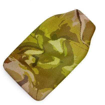 Hot Water Bottle - Honeycomb Marble Abstract 3