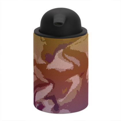 Soap Dispenser - Honeycomb Marble Abstract 6