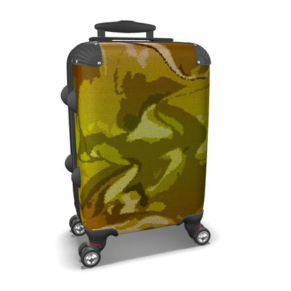 Suitcase - Honeycomb Marble Abstract 3