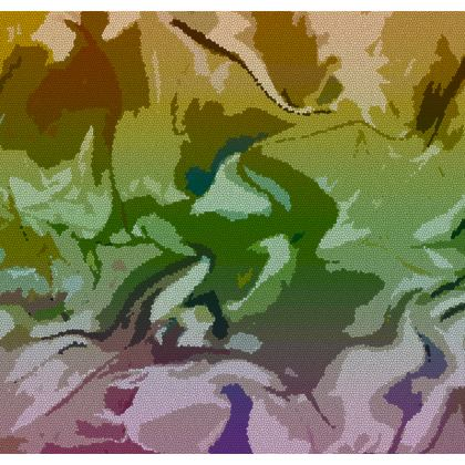 Luggage Tags - Honeycomb Marble Abstract 4