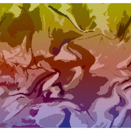 Luggage Tags - Honeycomb Marble Abstract 6