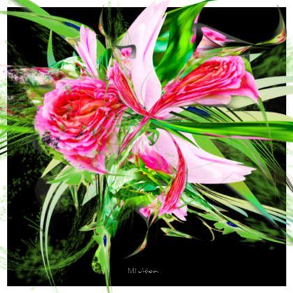 Coasters - Glasunderlägg - Pastells Black