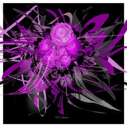 Coasters - Glasunderlägg - Lilac Black