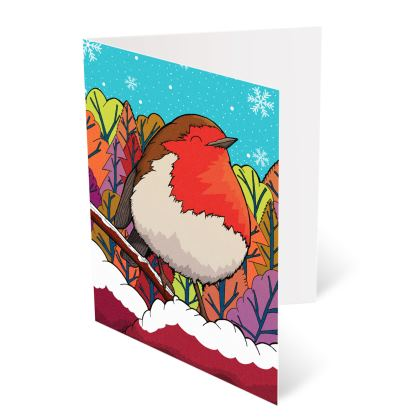 Occasions Cards - The Big Red Robin