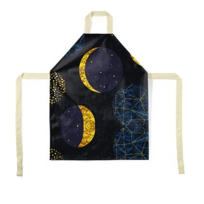 modern moon apron